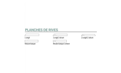 PLANCHES DE RIVE