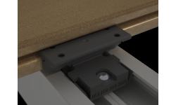 Clip polyamide pour lames de terrasse pleines P 9360 et P 9369