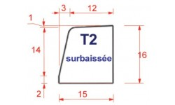 BORDURE DE TROTTOIR T2 BASSE
