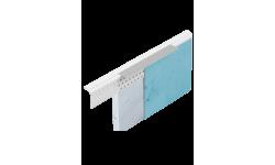 Profilé en PVC avec bande d'arrêt amovible