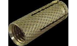 Cheville laiton