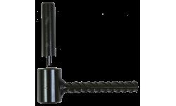 Gond de volet parpaing ou brique creuse