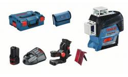 Laser lignes GLL 3-80 C Professional + BM 1 Plus - coffret L-Boxx