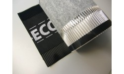 Closoir de ventilation souple DELTA-ECO ROLL 310 mm noir 50 m