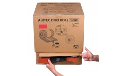 CARTON DUO-ROLL 310 MM x 50 M ROUGE