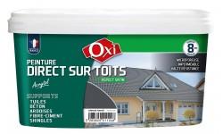 Peinture direct sur toits Acrytol Ardoise foncé 2.5 L