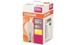 Ampoule LED standard verre dépoli 11 W 100 E27 Chaud