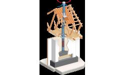 Conduit concentrique pour poêles et foyers gaz étanches : DUOGAS