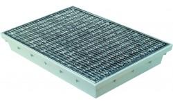 Paillasson encastrable MEARIN 600 x 400 + Grille caillebotis maille 30/10