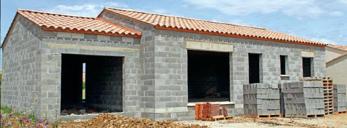 Fondations de maison