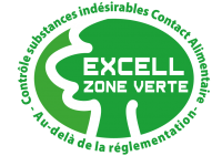 EXCELL LABEL VERT_ZVE_Contact_Alimentaire